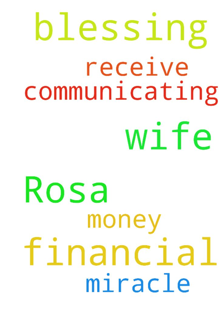 Prayer for my financial blessing and for my wife Rosa - Prayer for my financial blessing and for my wife Rosa we are not communicating and to receive miracle money  Posted at: https://prayerrequest.com/t/Q8c #pray #prayer #request #prayerrequest
