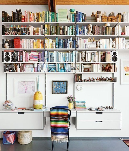 Apartment Therapy Kitchen Shelves: Best 25+ Wall Mounted Bookshelves Ideas On Pinterest