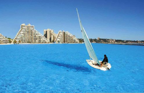 La più grande piscina del mondo, in Cile, è lunga oltre 1000 metri