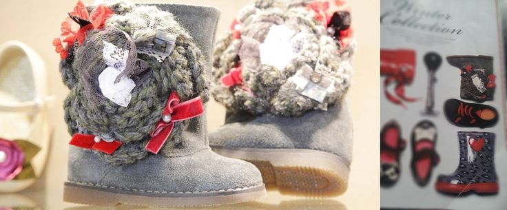 BABYWALKER FW2014/15 booties -> welcome to the World of pure Handicrafts  www.babywalker.gr