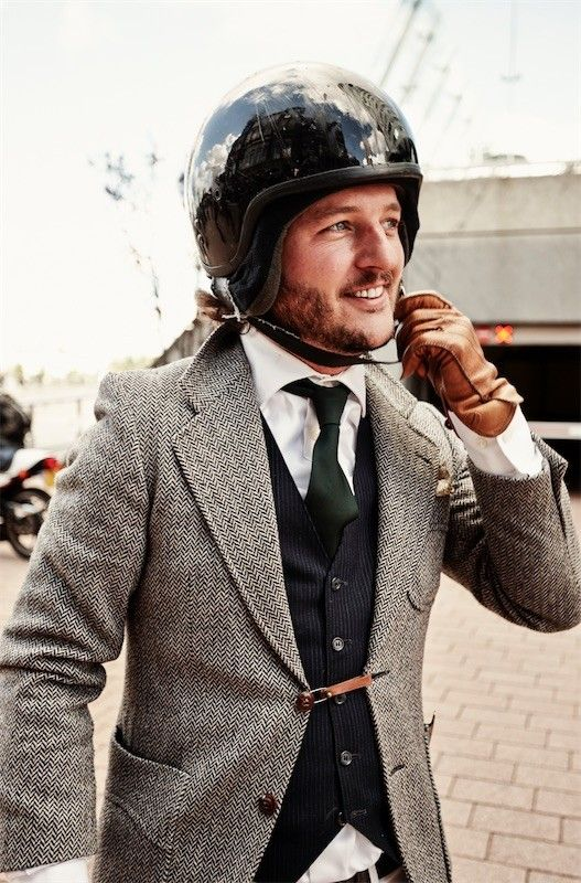 The 2017 Distinguished Gentlemans Ride : Gateway to the World  - Rotterdam
