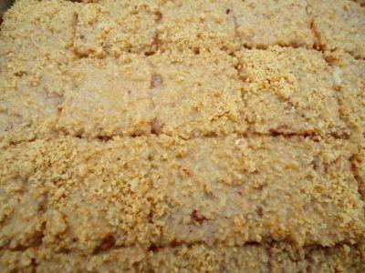 Receita de Bolo Úmido e Gelado de Amendoim