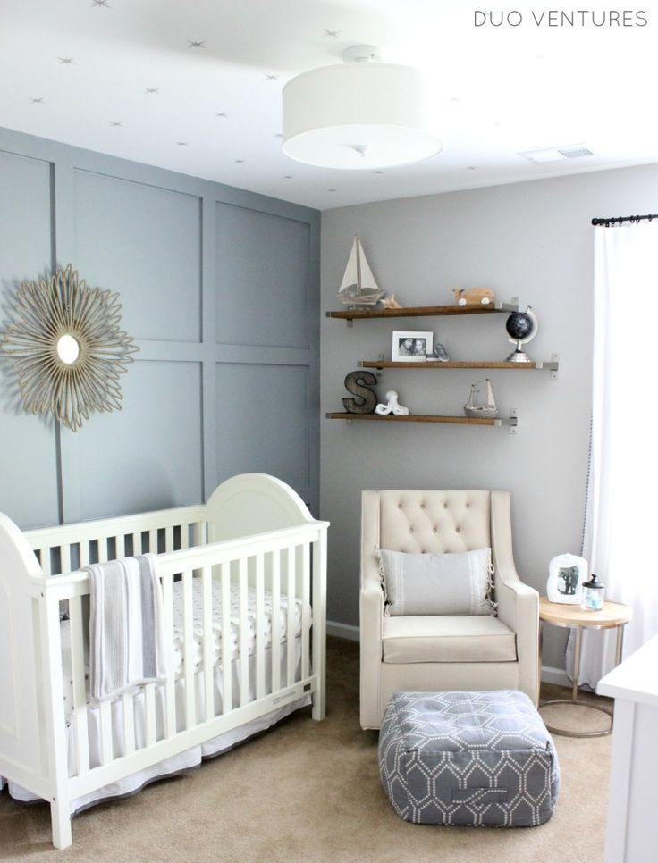 Hamptons Inspired Nautical/Travel Nursery - Project Nursery