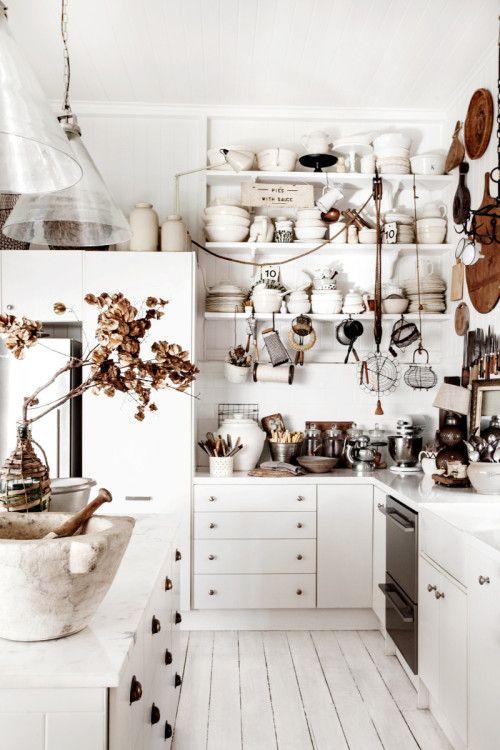 Deco Stalk // Chez Kara Rosenlund ... Styliste déco - My Little Home Blog