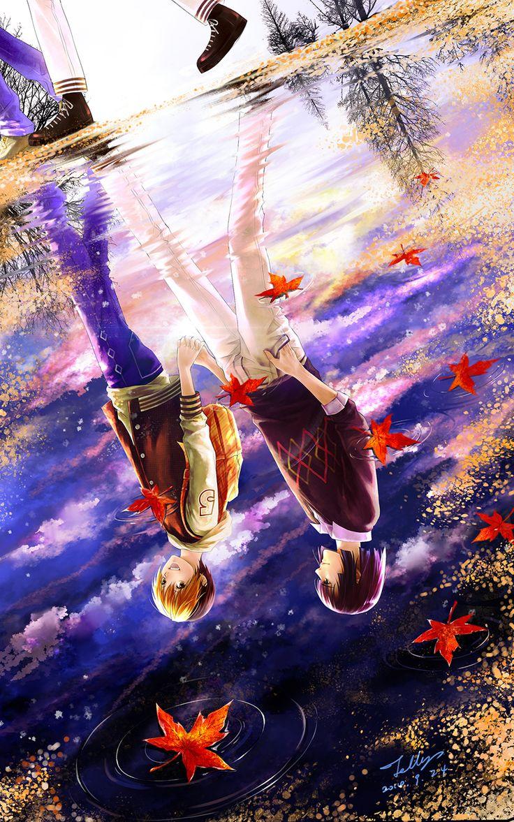 Hikaru no go - Hikaru x Akira, this is so pretty!