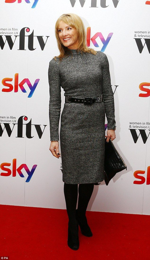 Big winner: Gabby Logan scooped the Visions Presenter Award