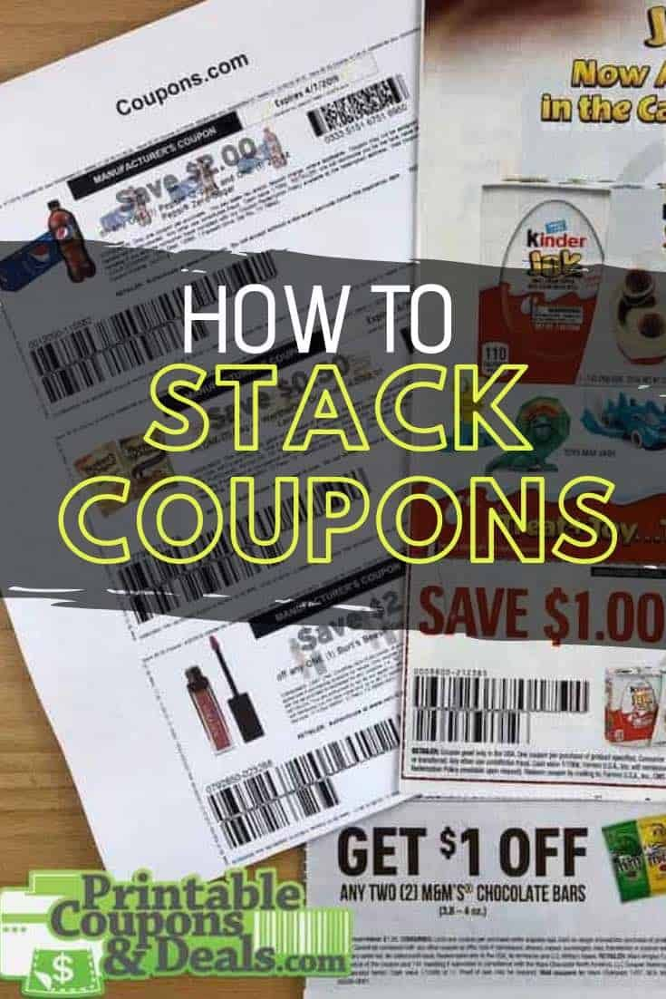 How To Stack Coupons The Right Way Everything You Need To Know To Apply Multiple Coupons And Save As Much Money Manufacturer Coupons Printable Coupons Coupons
