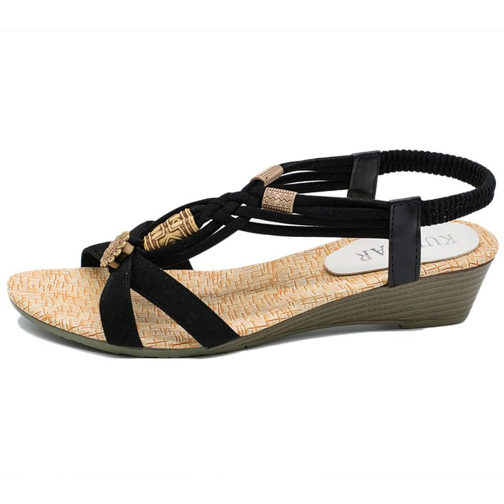 Women Wedge Sandals Shoes Women Summer Sandals 2016 New Ankle strap Gladiator Sandals Women Ladies Shoes. Click visit to buy #womensandal #sandal