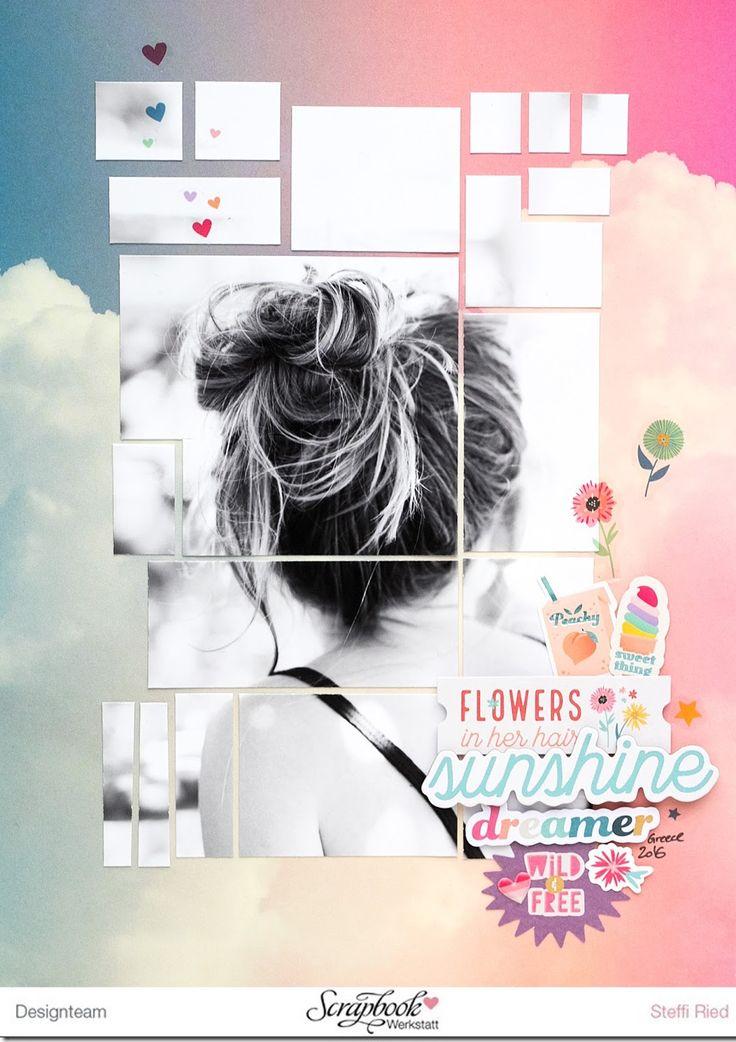 …obwohl sie keine Blumen im Haar hat auf dem Fot…