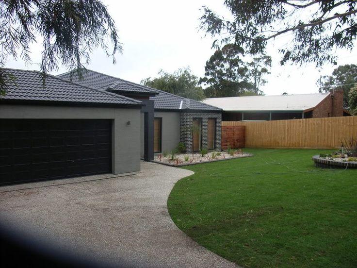 Grey Render and Brick Colour Scheme