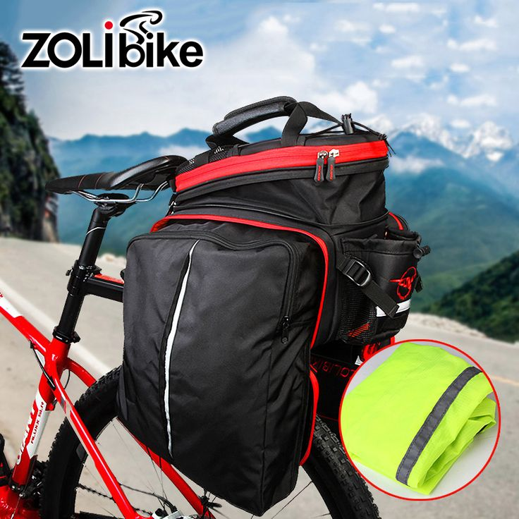 Men Cycling Bicycle Bags Reflective Velosumka Bike Bag Saddlebag Transport Tail Trunk Pannier Backpack Large Capacity Foldable * AliExpress Affiliate's Pin.  Details on this product can be viewed by clicking the VISIT button