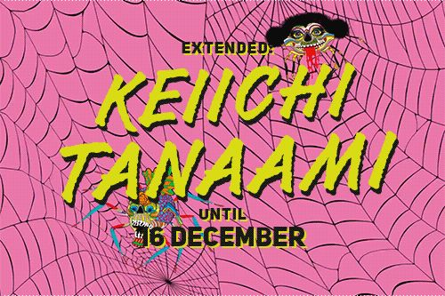 Dear Friends!  We have good news: Keiichi Tanaami solo show will be extended through December 16, 2017.  Everyone is very welcome!  p.s. Happy Halloween with laughing spider!  #keiichitanaami #garytatintsiangallery #landofmirrors #spider #halloween #show #exhibition #contemporaryart #art #instaart #japaneseart #october