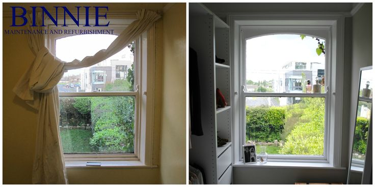 Before and After Binnie Maintenance and Refurbishment Ltd