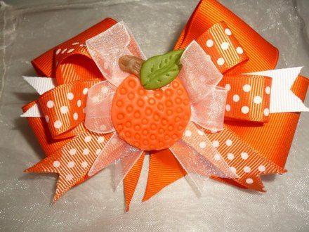 Lazo naranja con porcelana fria