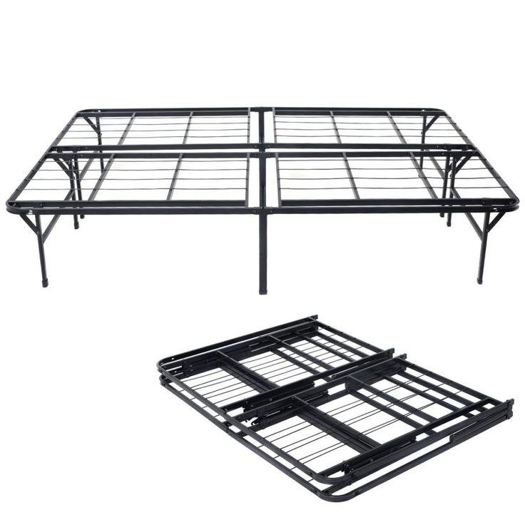 Best 25 folding bed frame ideas on pinterest futon bed for Folding futon bed frame