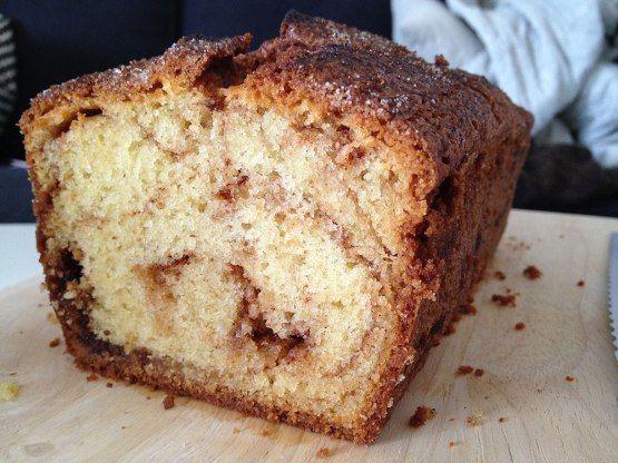 recetas delikatissen recetas de postres rápidos recetas de postres fáciles cinnamon loaf blog de recetas postres bizcocho nata fresca creme fraiche bizcocho esponjoso Bizcocho de canela