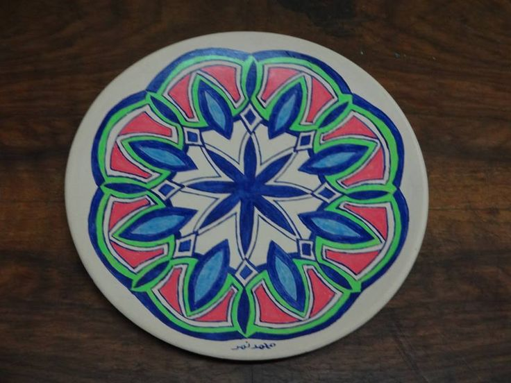 Ceramic Art | https://www.facebook.com/ZakharefArts |  #pattern