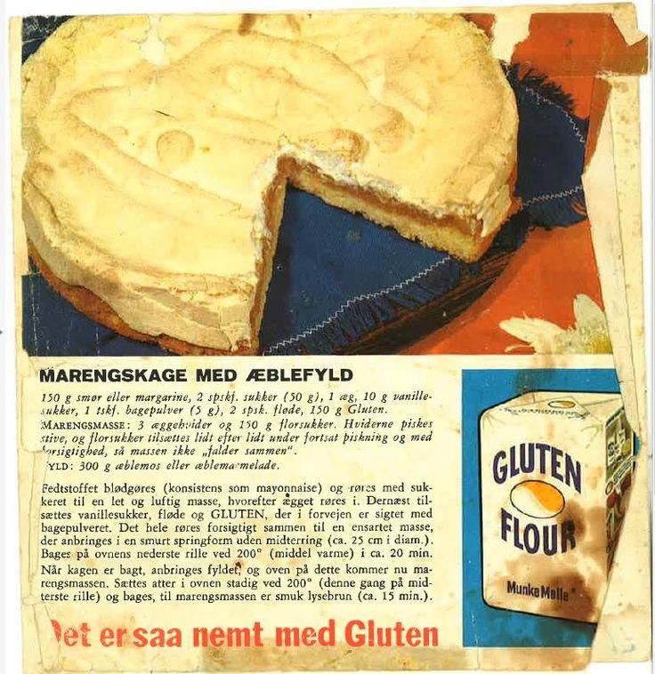 Marengskage med Æblefyld...