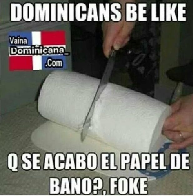 Dominicans be like ... Lmao!!