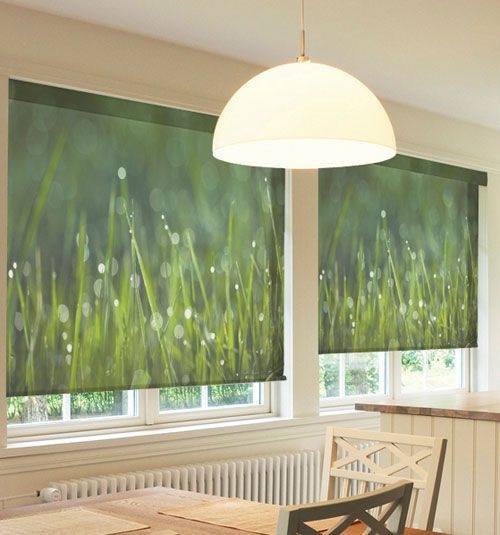 Cool idea! Custom Printed Roller Shades | Blindsgalore