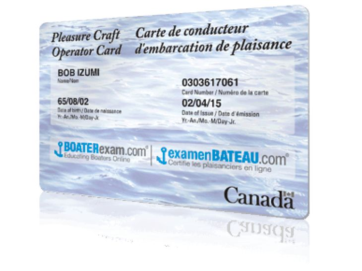online boating license ontario