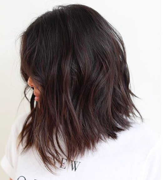 The Trending Haircut Technique That Works On Any Length Or Texture #refinery29 http://www.refinery29.com/a-line-haircut-technique#slide-1