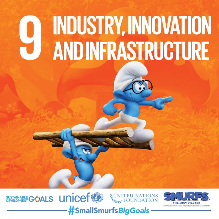 Brainy loves to perform science experiments—perfect because innovation is key to achieving the Sustainable Development Goals. Visit SmallSmurfsBigGoals.com to learn how you can take part!    #SmallSmurfsBigGoals #TeamSmurf