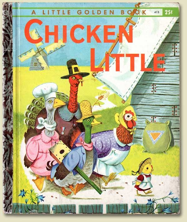 1960 Chicken Little - Little Golden Book