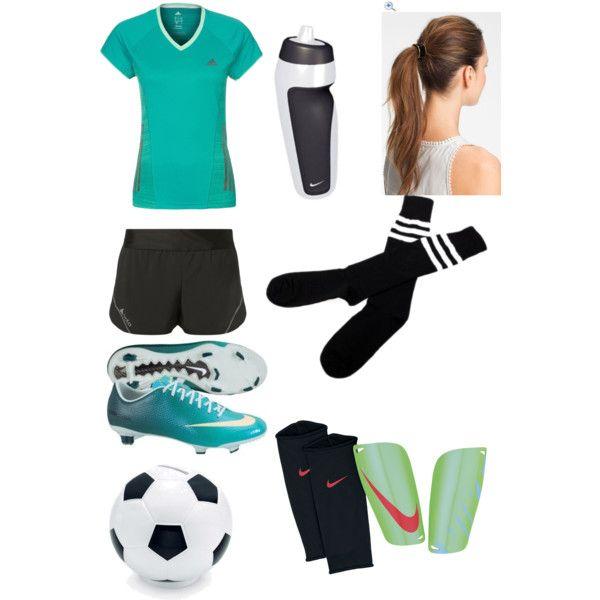 Aqua Soccer Outfit