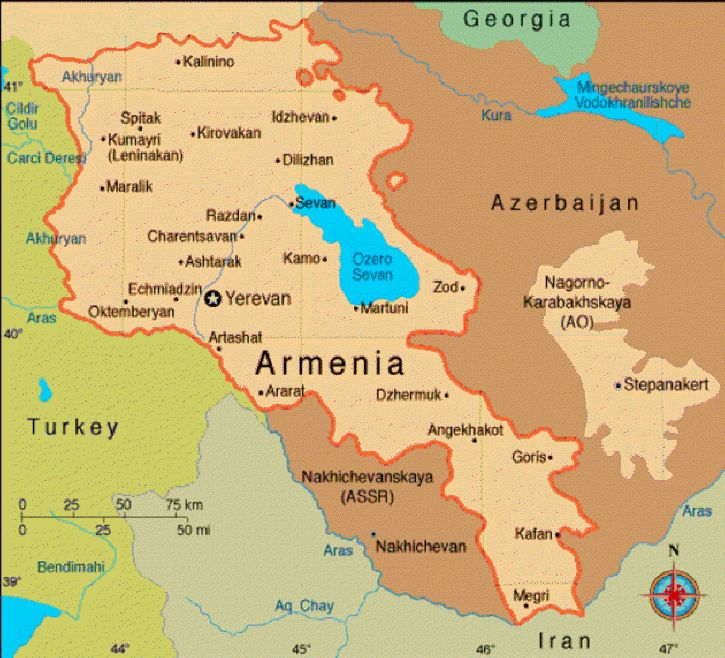 Best Maps Of Armenia Images On Pinterest Armenia Historical - Armenia physical map