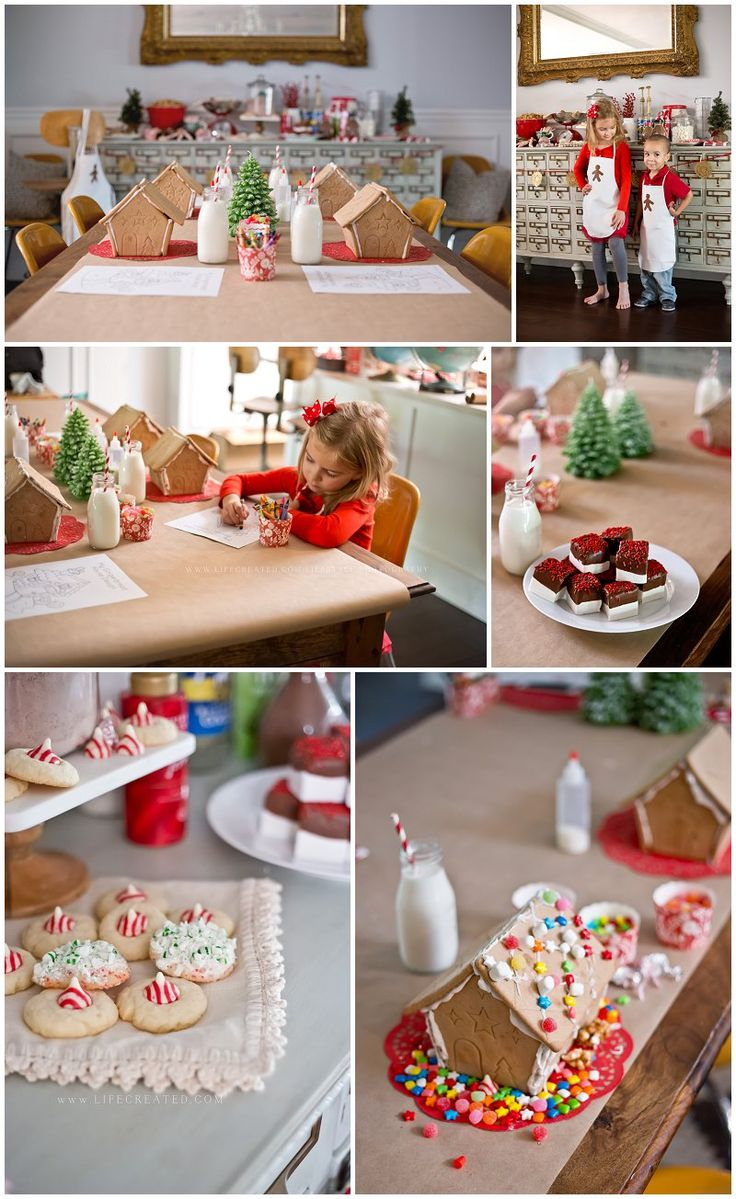 Gingerbread House Party Styling » LifeCreated
