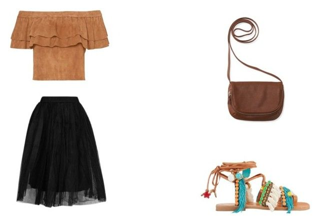 """""""19"""" by drile on Polyvore featuring Topshop, Aéropostale and Elina Linardaki"""