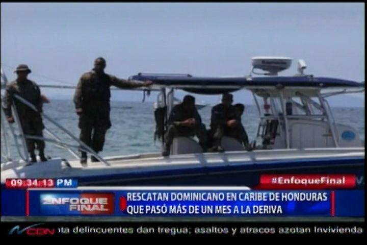 Unidad Naval De Honduras Rescatan Un Dominicano Que Pasó Más De Un Mes A La Deriva
