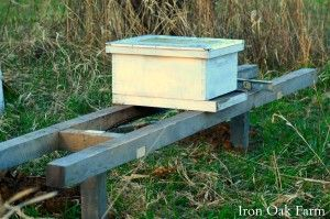 Instructions for building a Bee Hive Stand | Keeping Backyard Bees