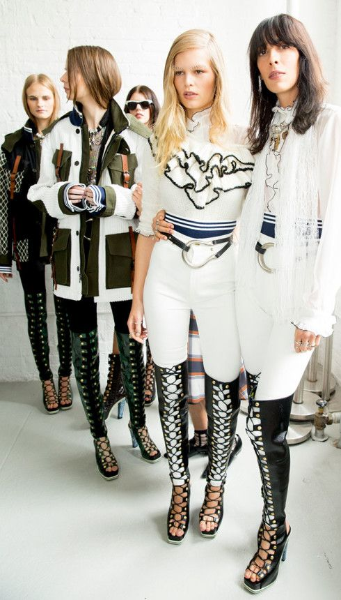 Rodarte Spring 2015 RTW – Backstage – Vogue