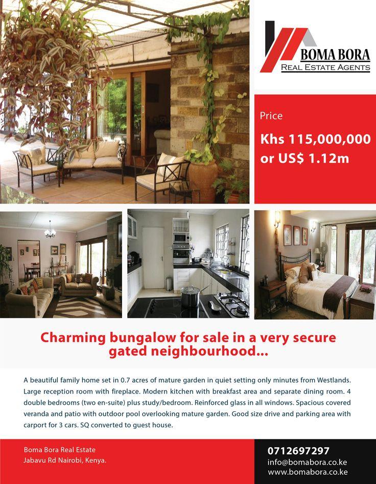 Bungalow For Sale In Kyuna, Nairobi.