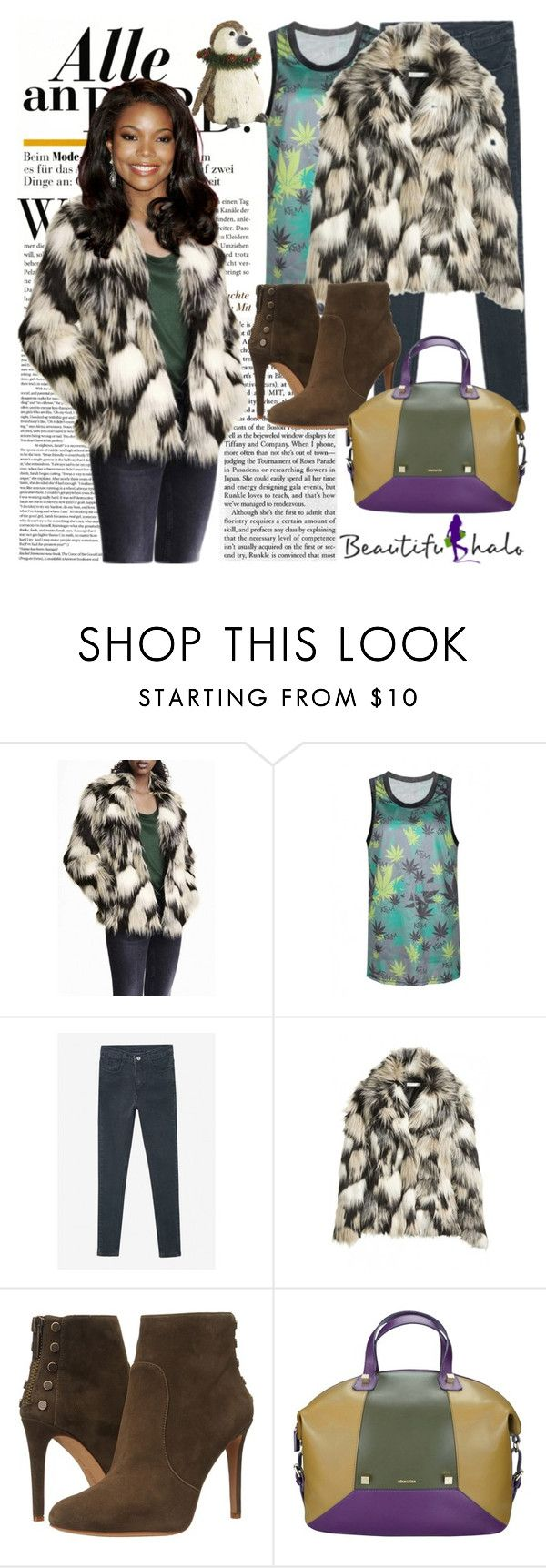 """""""BeautifulHalo-05 (55)"""" by irinavsl ❤ liked on Polyvore featuring Vince Camuto, Manurina and bhalo"""