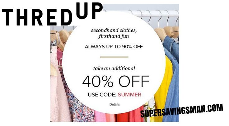 Thred Up : Second Hand designer clothing at HUGE discounts - http://supersavingsman.com/thred-up-second-hand-designer-clothing-at-huge-discounts/