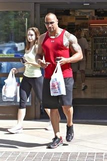 "Dwayne Johnson - The Rock: Dwayne Johnson The rock new girlfriend "" pic "" & a..."