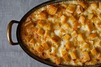 Martha Stewart's Macaroni and Cheese Recipe on Food52, a recipe on Food52. Increase seasoning next time.