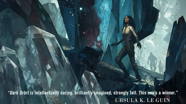 Dark Orbit, by Carolyn Ives Gilman, reviewed in: iO9, The Very Best Science Fiction And Fantasy Books Of 2015, by Andrew Liptak