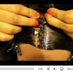How to cornrow