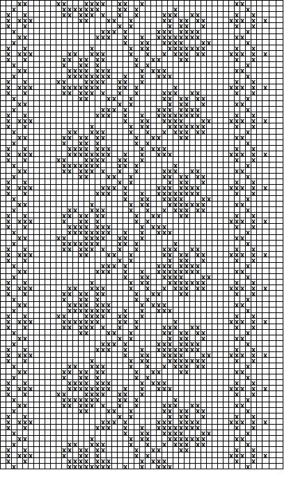 Filet Crochet Runner  'roses'