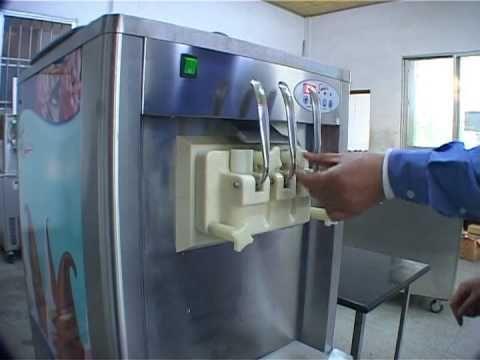 Jin Li Sheng - Soft Ice Cream Machine, Ice Cream Maker, Ice Cream Freezer, Ice Cream Making Machine - YouTube
