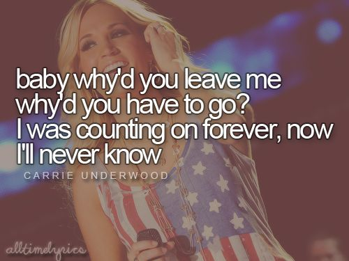 Just a Dream: Carrie Underwood I love this song, it makes me cry