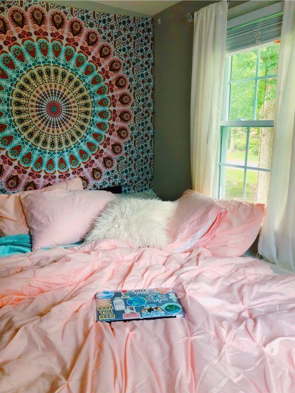 Vsco Tapestry Decor Caitymiller Dorm Room Styles Cute Room Decor Bedroom Styles