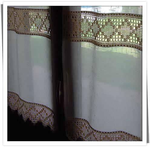 LavoriDiFata: Tende uncinetto e tessuto - part 2