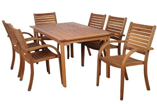 Special Offers - Cheap Amazonia Arizona 7-Piece Eucalyptus Rectangular Dining Set - In stock & Free Shipping. You can save more money! Check It (January 27 2017 at 04:43PM) >> https://gardenbenchusa.net/cheap-amazonia-arizona-7-piece-eucalyptus-rectangular-dining-set/