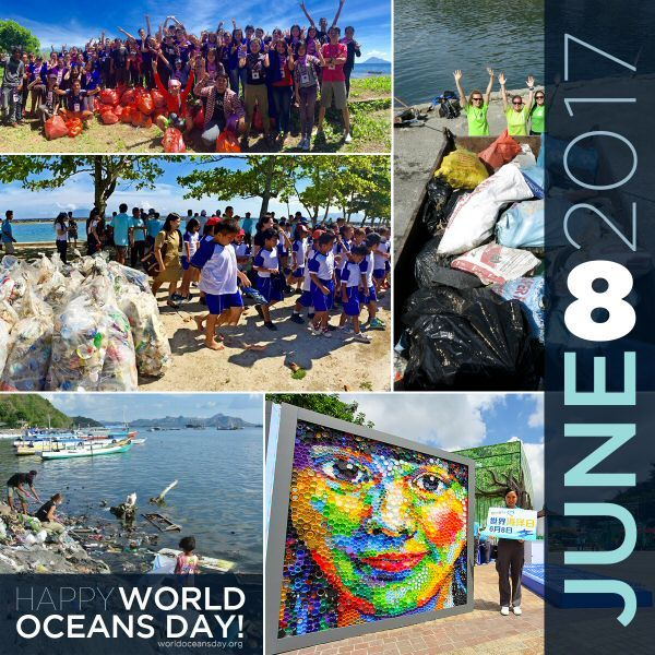 World Oceans Day is held on June 8th each year. This year's theme is Our Oceans, Our Future. The main conservation focus for 2017 will be on plastic pollution prevention and cleaning the ocean of marine litter.