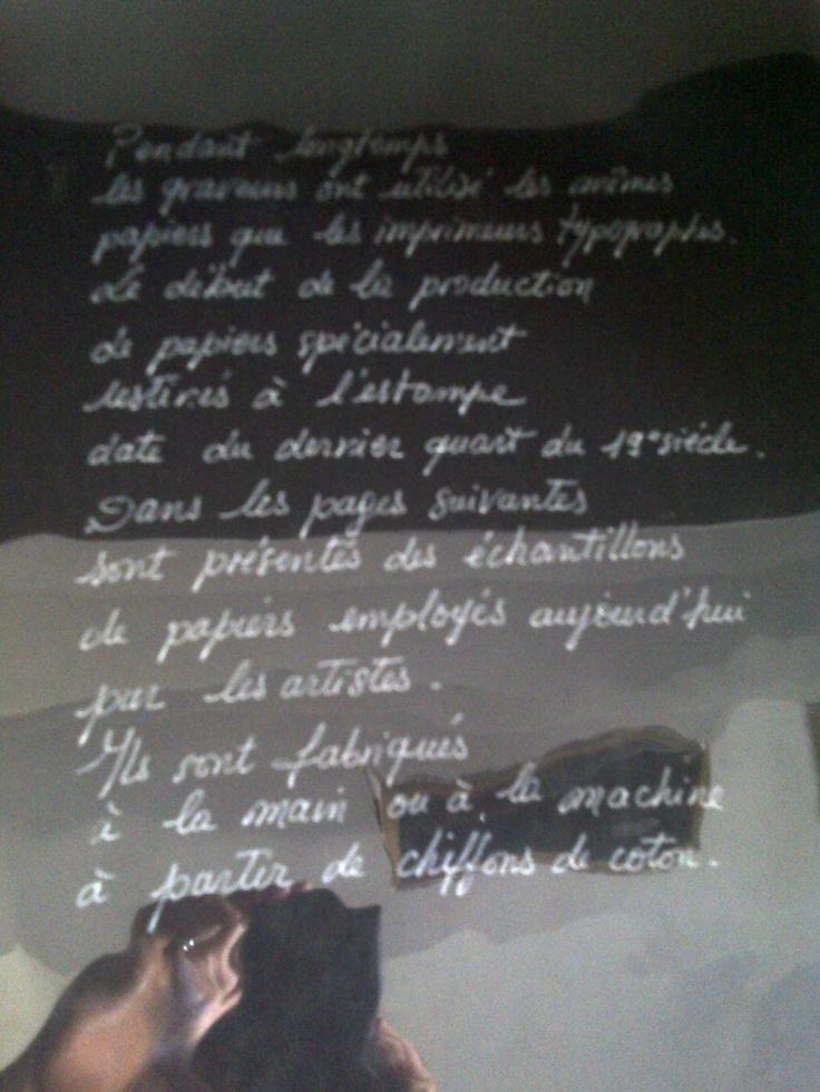 """""""Le Papier"""" Exhibit at Musee de Alpilles - St. Remy de Provence, France"""